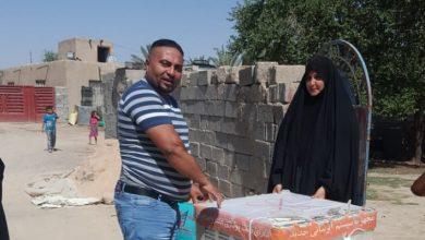 Photo of منظمة المرأة والمستقبل العراقية تعين عائلة في عكركوف مواجهة حر الصيف