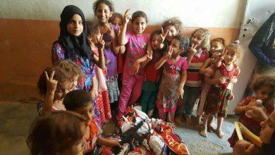 Photo of منظمة المرأة والمستقبل العراقية ترسم البسمة على وجوه اطفال منطقة عكركوف بمناسبة قرب عيد الفطر