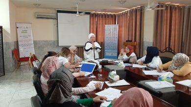 Photo of منظمة المرأة والمستقبل العراقية تدرب العلاج بالطاقة الإيجابية الكونية للمعالجة سناء محمد ماستر علم الطاقة…