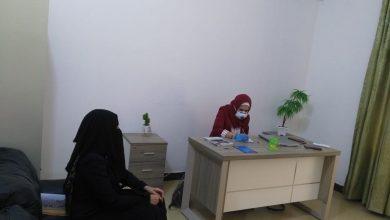 Photo of مركز الاستماع والارشاد للدعم القانوني والنفسي والاجتماعي يقدم الاستشارات القانونية للنساء المعنفات في…